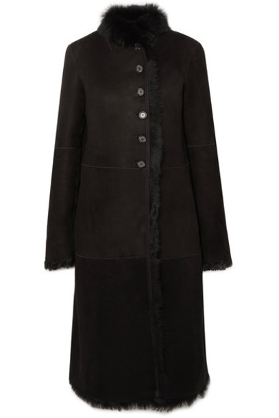 Joseph coat black