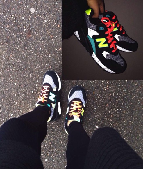 colorful new balance sneakers