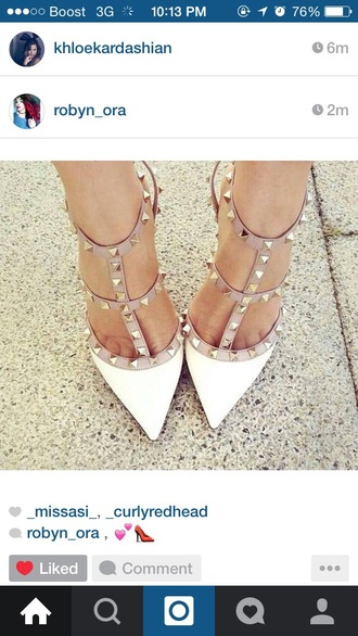 shoes heels bones nude studs style straps
