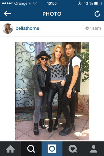 pants bella thorne