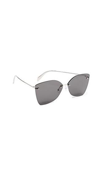 sunglasses silver grey