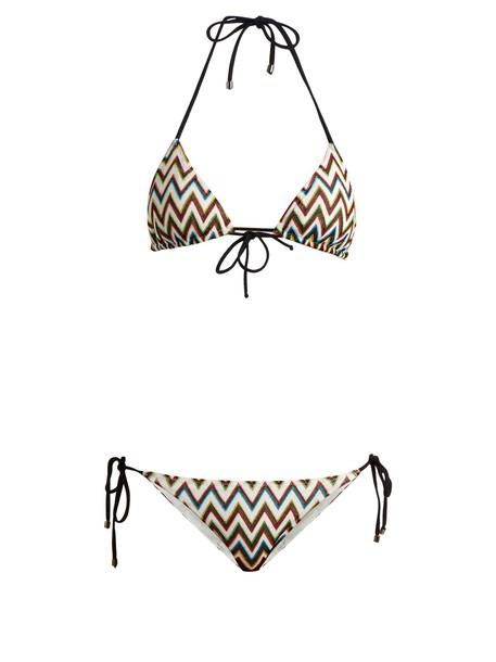 Missoni Mare bikini triangle bikini triangle knit swimwear
