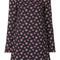 P.a.r.o.s.h. - floral print dress - women - polyester/spandex/elastane - m, blue, polyester/spandex/elastane