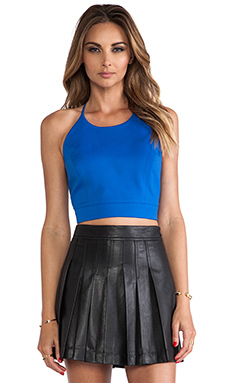 Sachin   Babi Maria Top in Blue Aster | REVOLVE