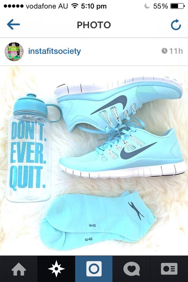 shoes nike free run nike free run blue nike free runs blue nikes socks nike free run fitness fashion nike light blue
