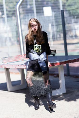 jacket t-shirt blogger after drk