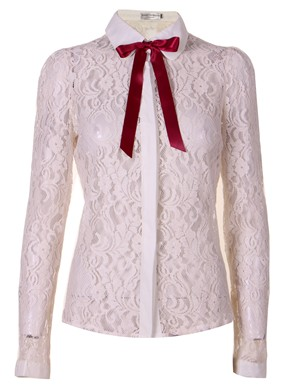 Trista Detail Collar Lace Shirt