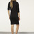 ORVIS | BLACK TERRY KNIT DRESS