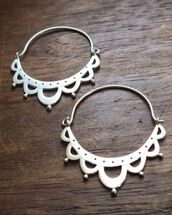 jewels,sterling silver,silver,earrings,silver earrings,hoop earrings