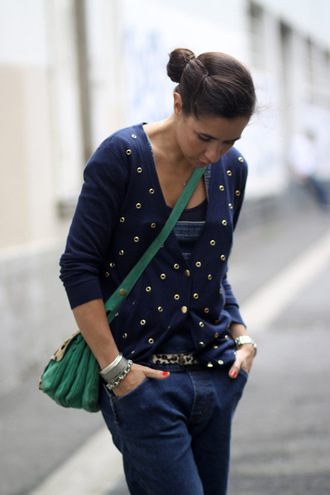 mimnor blue sweater sweater