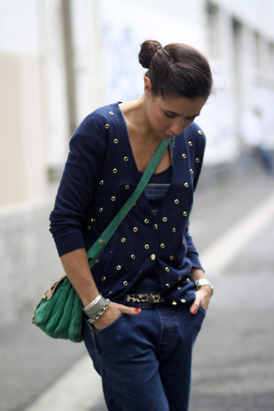 mimnor blue sweater