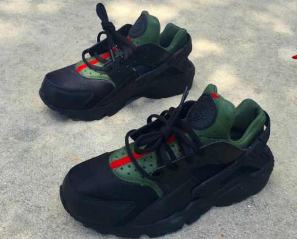 Black Custom Gucci Huarache