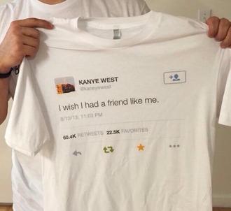 shirt kanye west tumblr instagram graphic tee