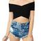 Wendi bandeau crop top