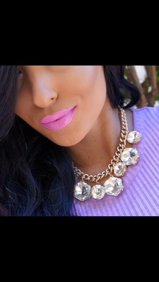 hipster jewels necklace girly luxury