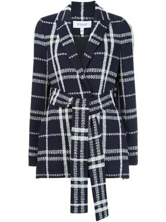 jacket women cotton blue wool
