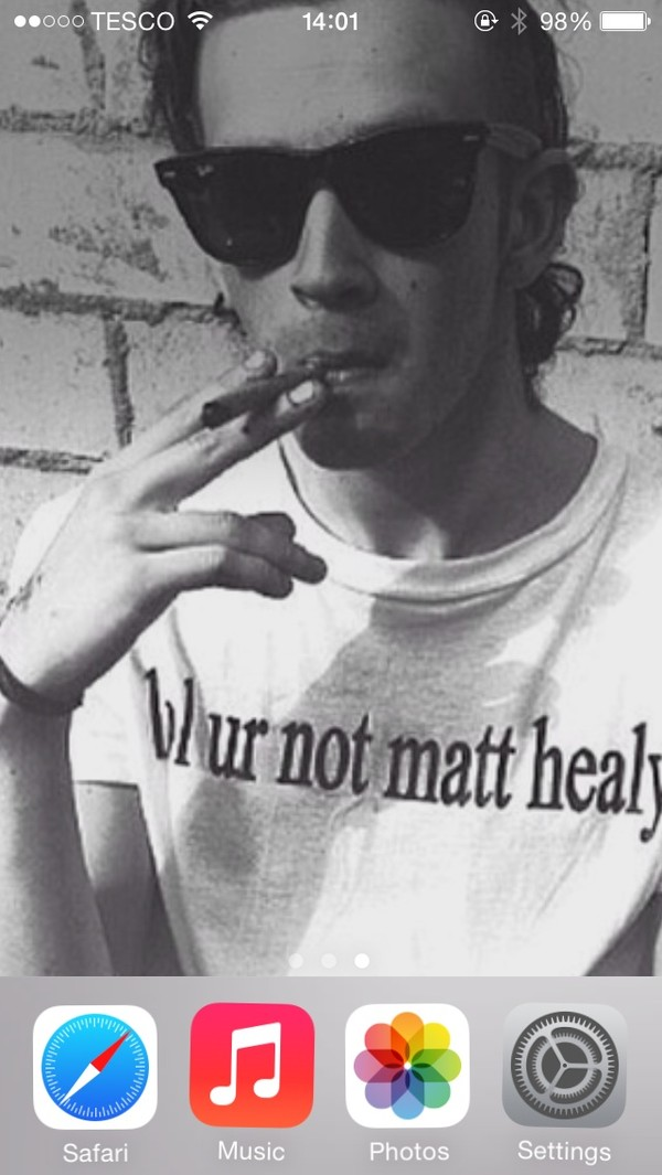 t-shirt lol ur not matt healy band matt healy the 1975 the 1975 band t-shirt india love india westbrooks