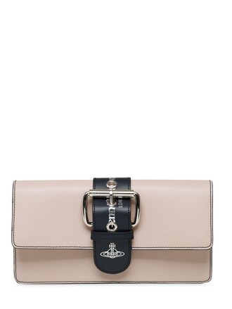 leather clutch clutch leather nude bag