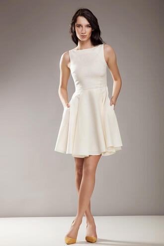 dress molly dress ecru off-white dress prom dress prom