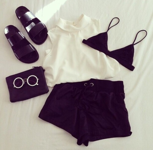 Sunglasses Round Sunglasses White Retro Sunglasses Style Summer Love Zara Round Cute