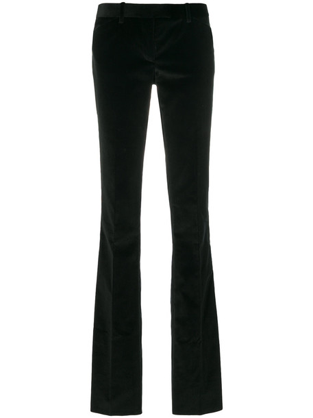 BARBARA BUI women spandex cotton black pants