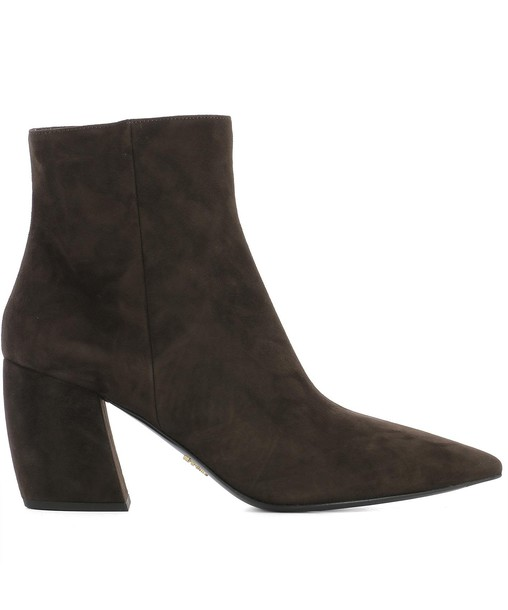 ankle boots suede brown shoes