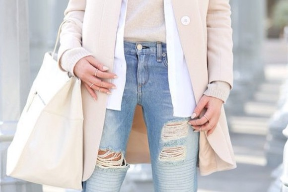 soft coat sand color spring fashion