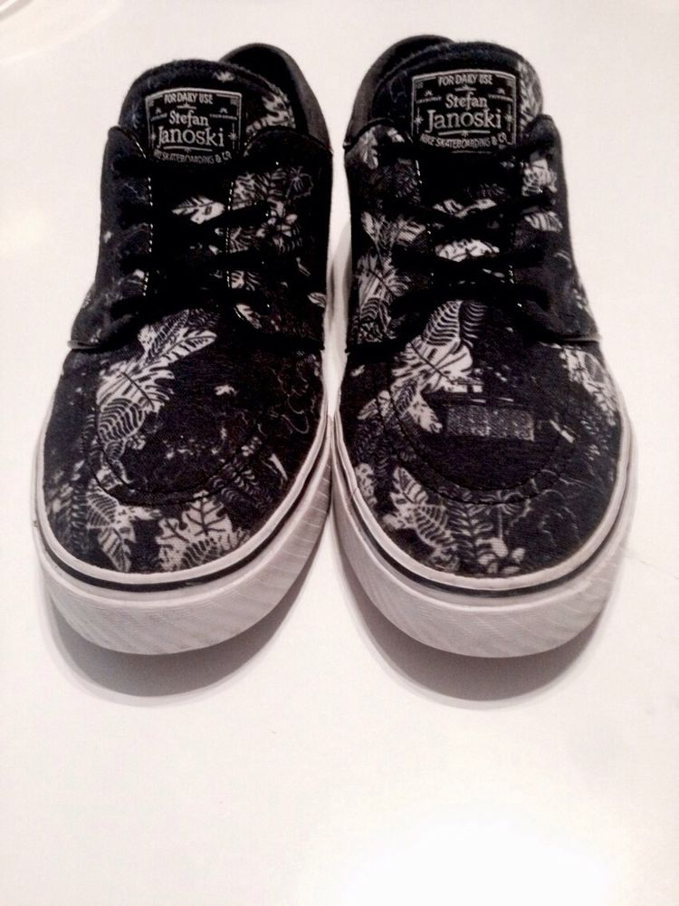 Nike Stefan Janoski Floral Shoes Rare 7.5 Uk Deadstock! | eBay