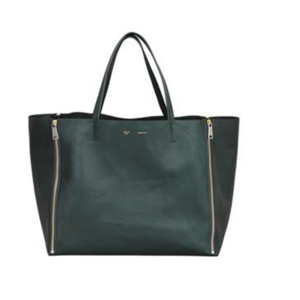 black bag leather bag with zips tote bag bag