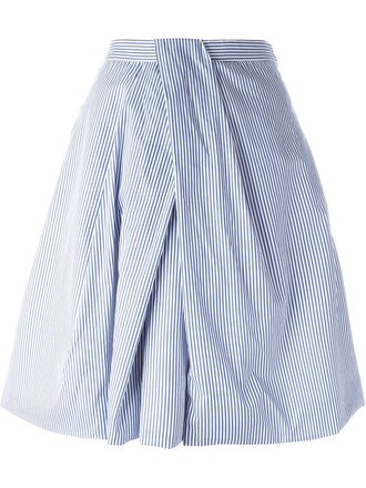 skirt striped skirt white