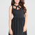 Black Little Black Dress - Little Black Dress with Cutouts, | UsTrendy