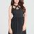 Black Little Black Dress - Little Black Dress with Cutouts, | UsTrendy