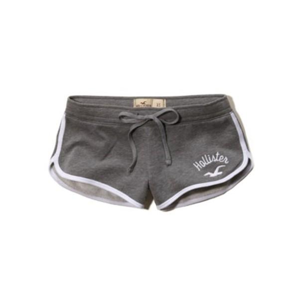 Hollister Curved Hem Shorts Shorts Hollister Curved Hem