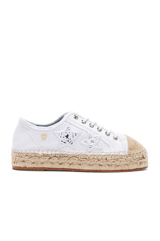 espadrilles white shoes