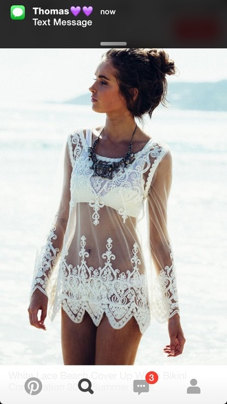 dress cover up swimwear bikini beach dress
