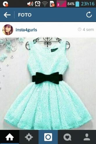 dress blue dress ribbon dress