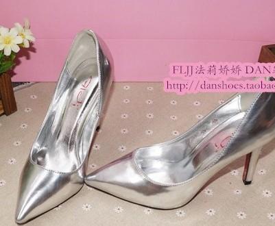 2013 fashion sapatos feminino leather thin high heeled single shoes gold stillettos zapatos sexy wedding shoes women's pumps