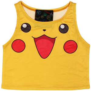 Pikachu crop tank