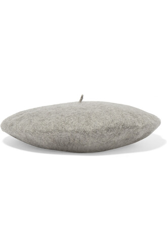 beret wool hat