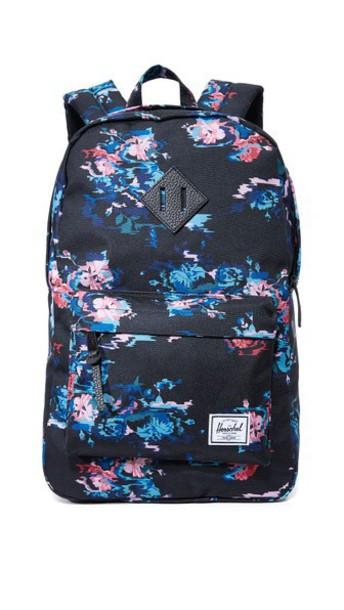 Herschel Supply Co. Herschel Supply Co. Heritage Mid Volume Backpack - Floral Blur/Black