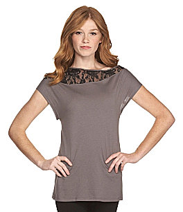 Product: Seamline by Cynthia Steffe Lace-Detail Top