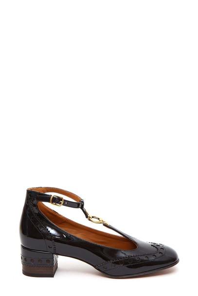Chloe brown shoes
