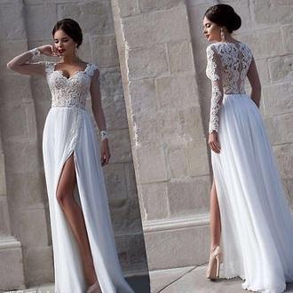 dress prom dress long prom dress long sleeve dress lace dress