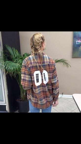 jacket plaid shirt flannel shirt numbers