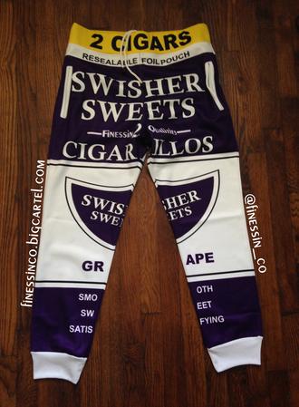 joggers joggers sweats jogging pants swisher sweets jeans