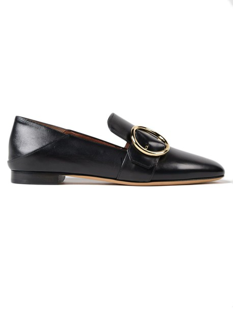 Bally slippers black shoes
