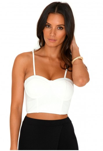Kornelia Zip Back Bralet Top - Tops - Bralets and Crop Tops - Missguided