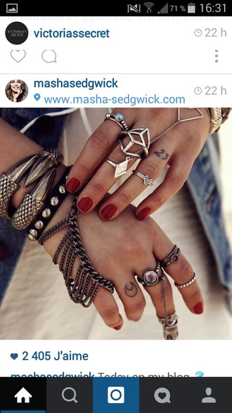jewels ring festival boho hat