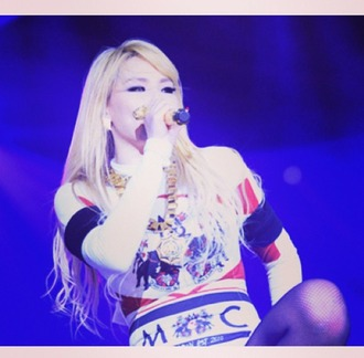shirt cl chaelin 2ne1 korea kpop chaelincl concert