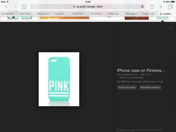 phone cover victoria's secret pink iphone 4 case mint